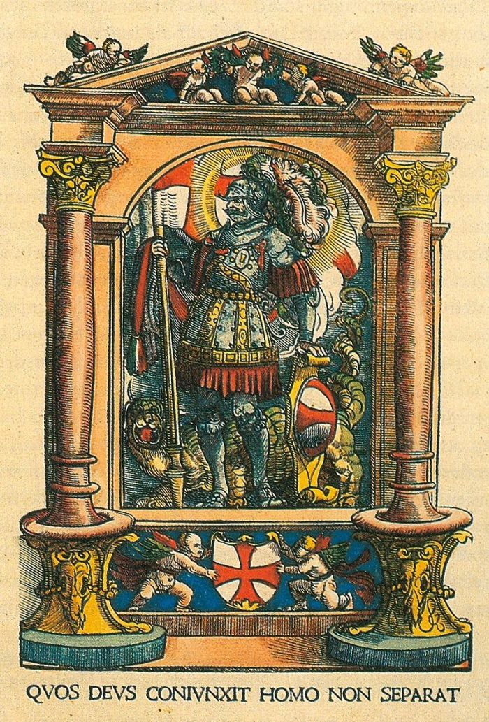 Burgkmair's Coat of Arms of Swabian League