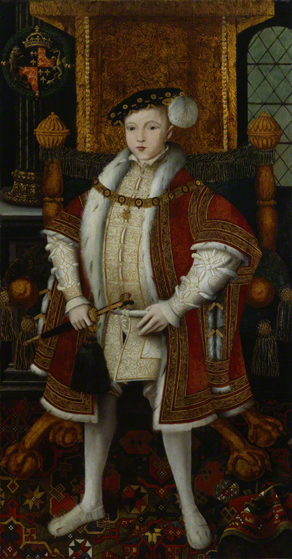 NPG 5511; King Edward VI by Unknown artist, after  William Scrots
