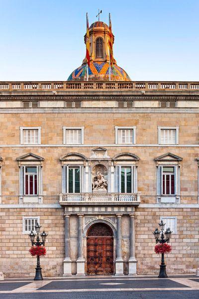 Generalitat Barcelona front door