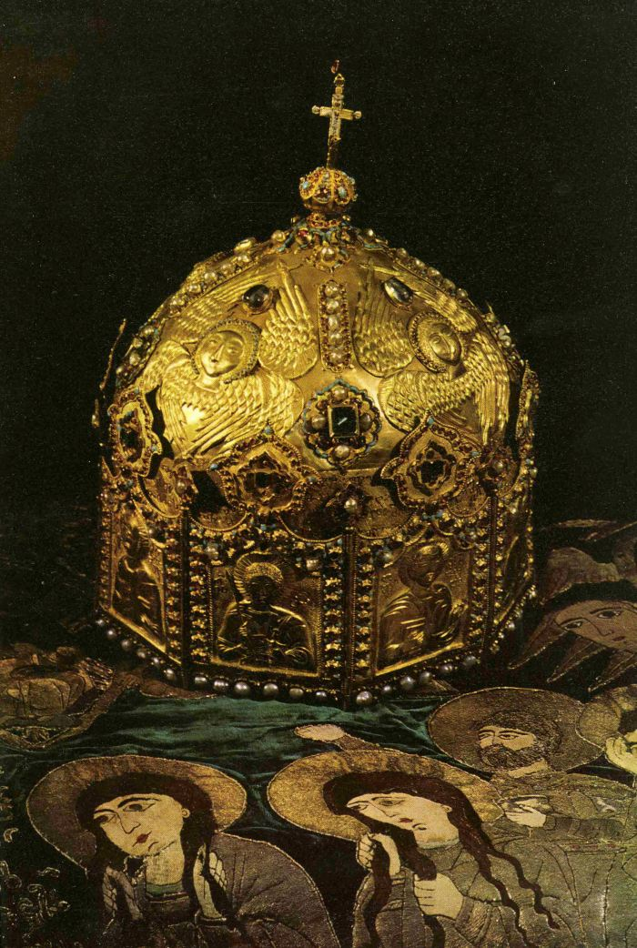 Gold mitre of the Catholicos of Georgia