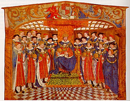 Henry VIII and his knights