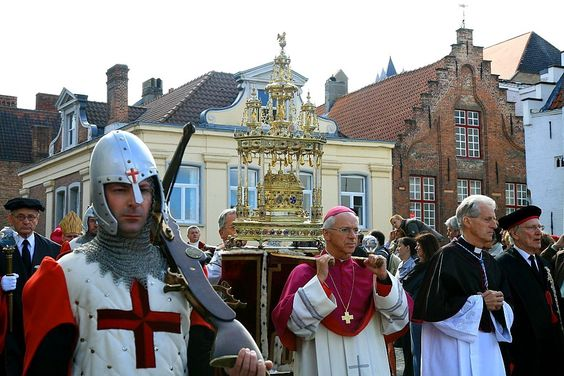 Procession of the HOly Blood Bruges