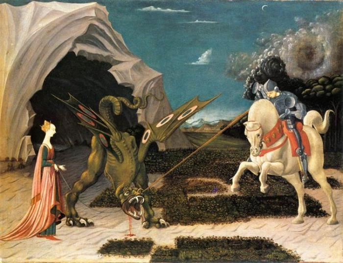 St George Ucello 1470
