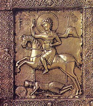 St George XI cent Svaneti Museum