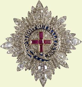 Star made for Queen Victoria 1838