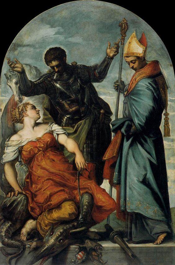 Tintoretto St George Accadamie Venice
